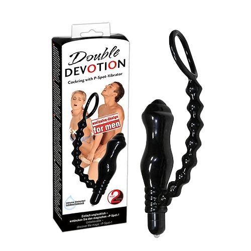 Cockring/Vibro P-Spot Stimulator