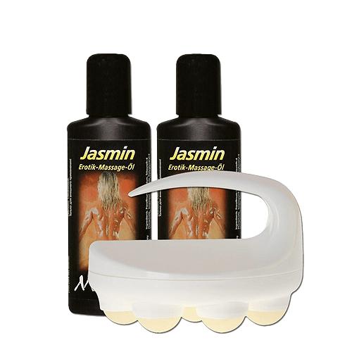 Massageolie/Body Roller