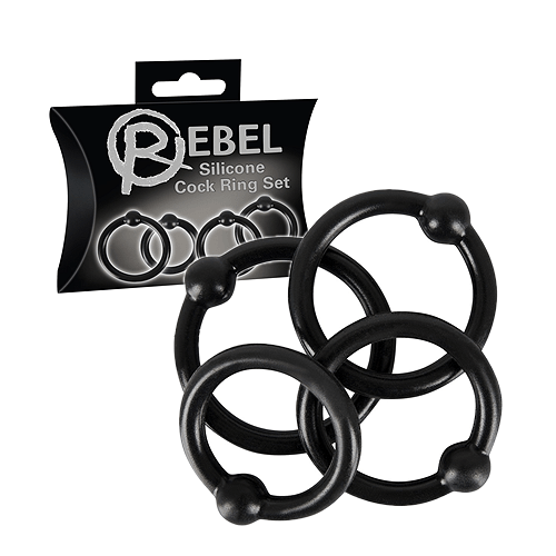 Silicone Cockring Set - Rebel