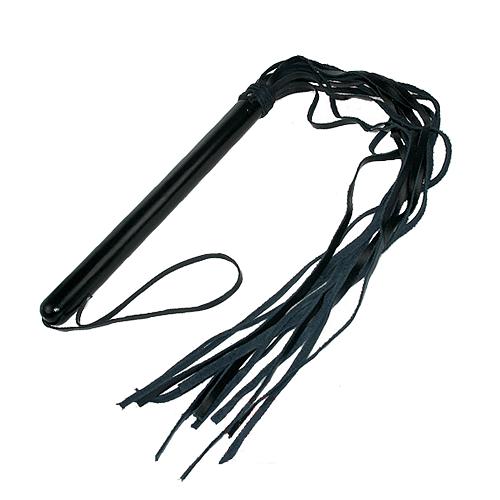 75 cm Flerhalet Læder Pisk