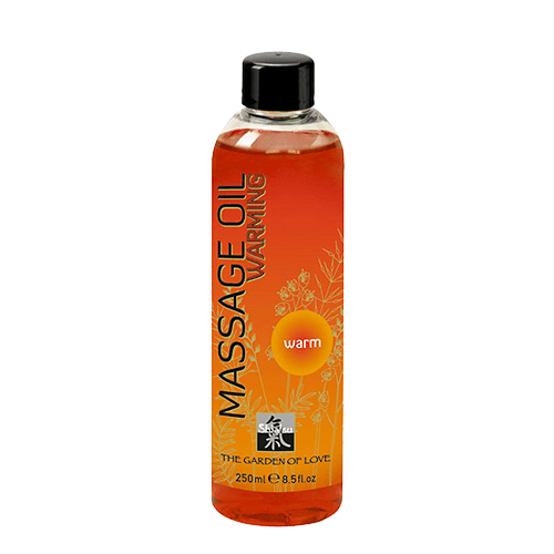 Shiatsu Warming Massage Oil
