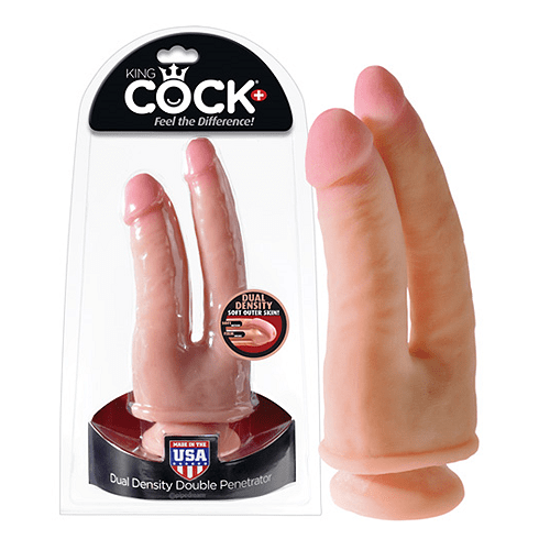 King Cock Dual Sugekop Dildo