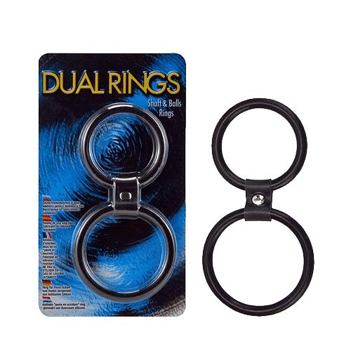 Dual Shaft & Balls Rings