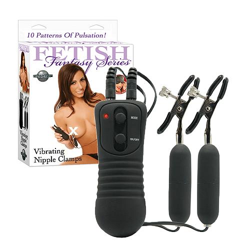 Vibrator Nipple Clamps