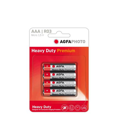 4 stk. AAA Batterier