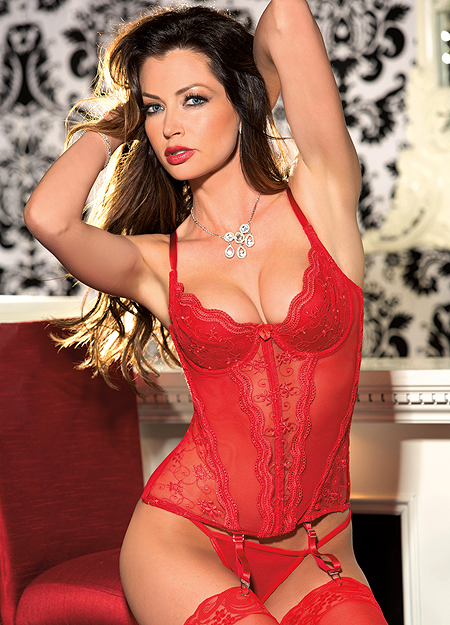 Padded Push-Up Bustier