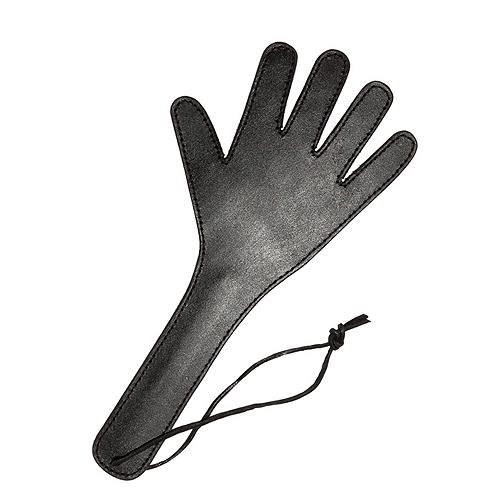 37 cm Håndform Læder Paddel