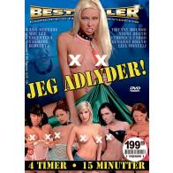 Jeg Adlyder ! - Bestseller - DVD pornofilm