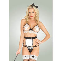 French Maid Outfit - Leg Avenue - Kostume