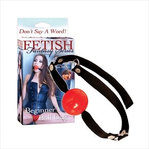 Beginners Red Ball Gag