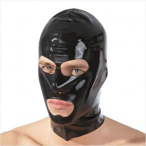 Mund/Øjne Latex Maske