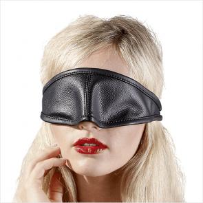 Læder Blindfold Maske