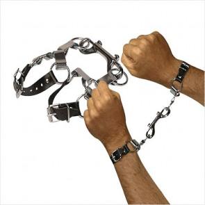 Metal/Læder Håndlænke