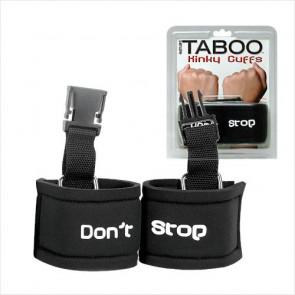 Taboo Kinky Cuffs - Topco Sales - Bindesæt