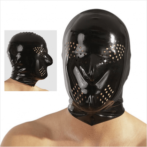 Perforeret Latex Helmaske