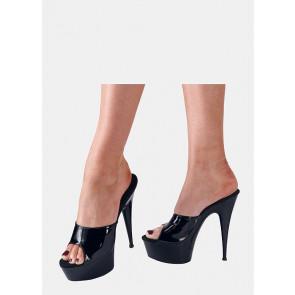 Lak Plateau Sko - Cottelli High Heels