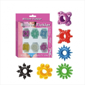 6-pack Silicon Tickler Kit