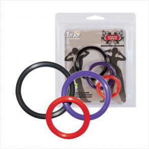 Multicolor Triple Rings